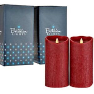 "S/(2) 7"" Touch Candles in Gift Boxes"